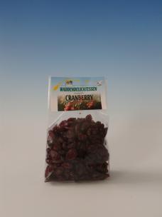 Cranberry besjes gezoet 100 gr.